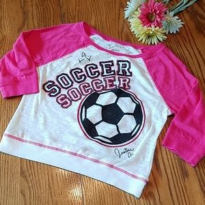 Justice soccer top
